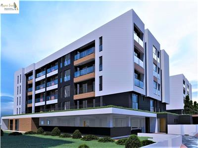 Apartament 3 camere D 2 bai Bloc nou Copou-Sadoveanu