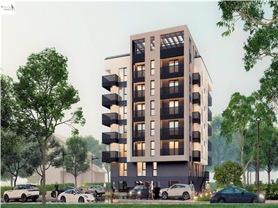 Apartament 3 camere 2 bai Bloc nou zona Copou